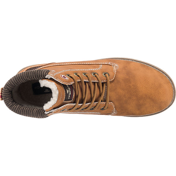 TOM  TAILOR, TOM TAILOR Stiefel & Stiefeletten, camel  TOM Gute Qualität beliebte Schuhe 06d764