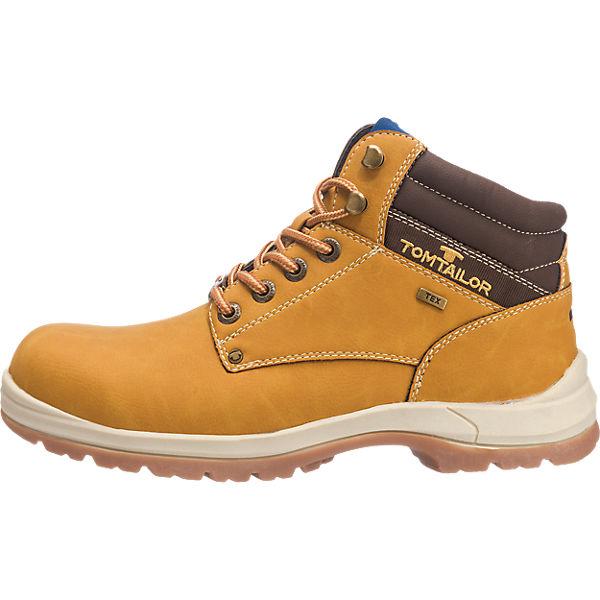 TOM TAILOR, TOM TAILOR Stiefel & Stiefeletten, camel  Gute Qualität beliebte Schuhe