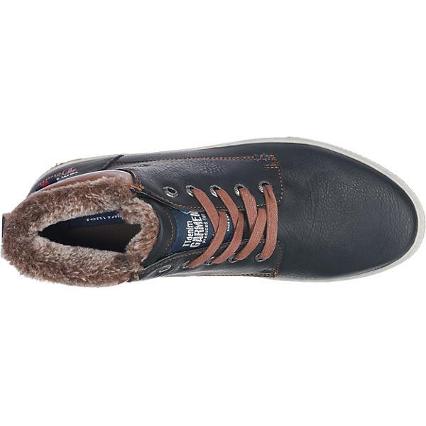 TOM TAILOR TOM TAILOR Sneakers schwarz