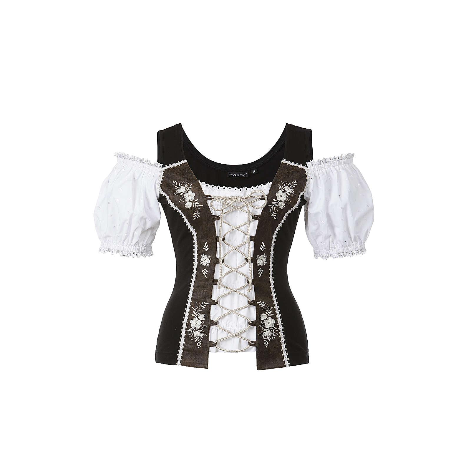 Stockerpoint Shirt Nella schwarz Damen Gr. 34
