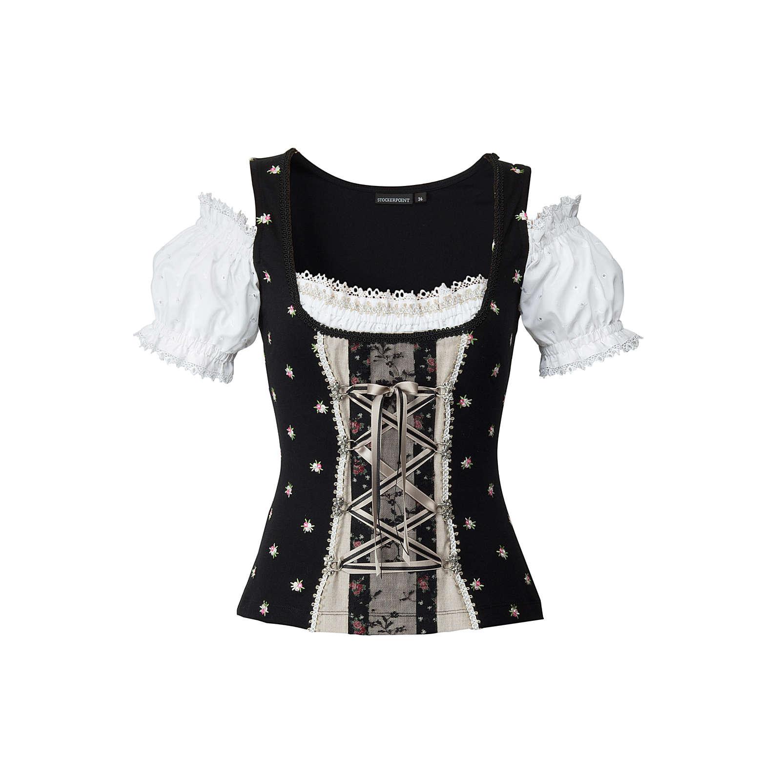 Stockerpoint Shirt Siena schwarz Damen Gr. 34