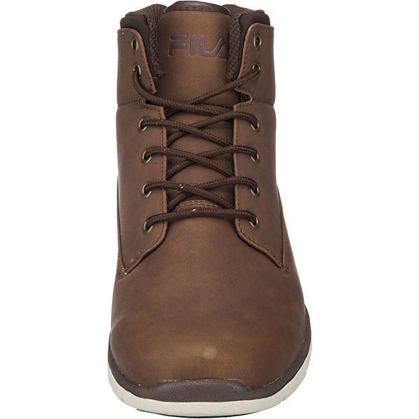 High Lance FILA partridge Sneakers mid dunkelbraun 6IwOqvxHU