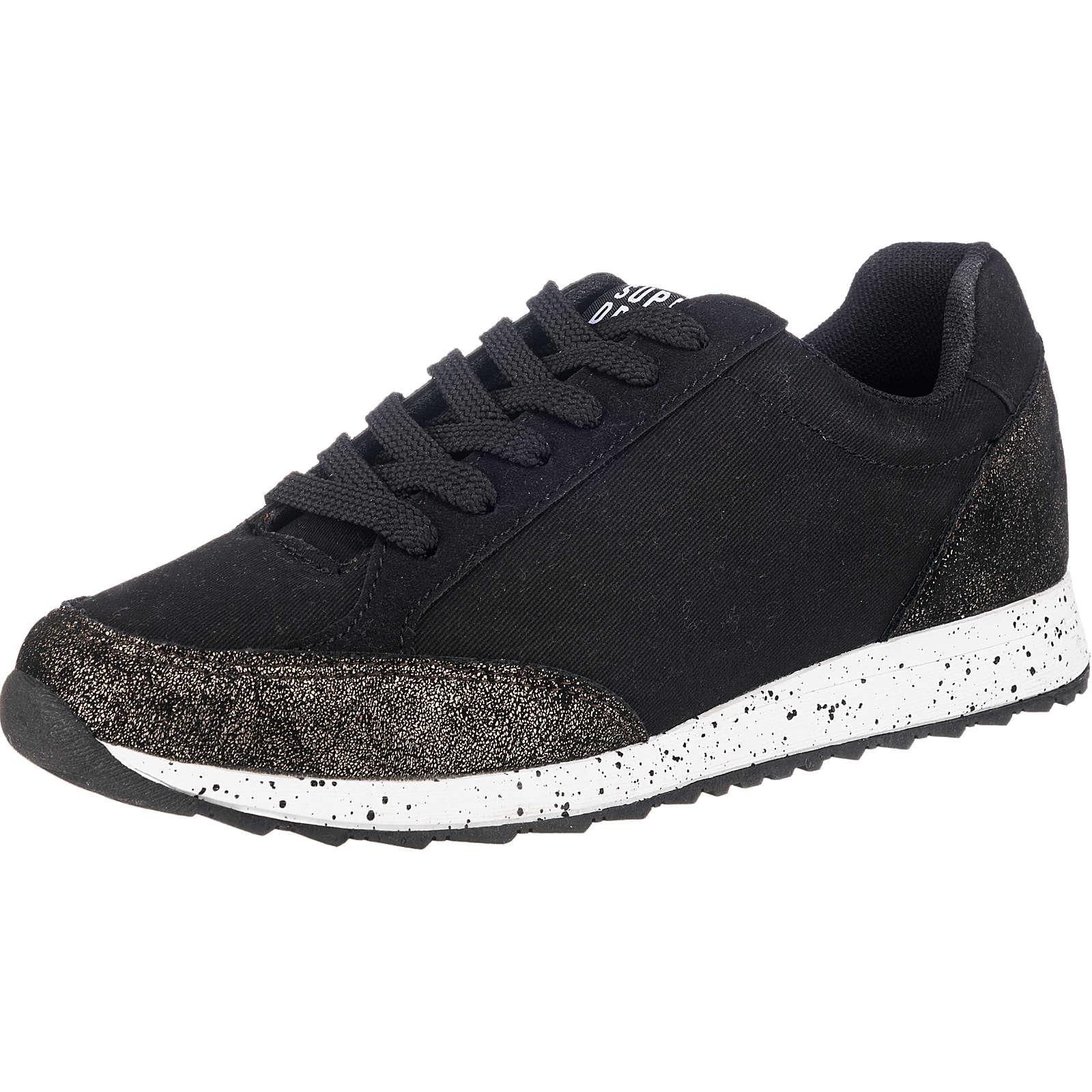 Superdry Core Runner Sneakers schwarz-kombi Damen Gr. 40