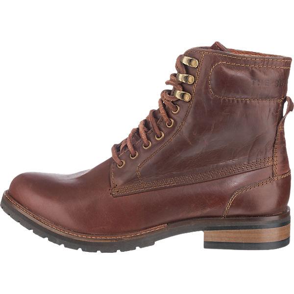 Superdry, Superdry Edmond Stiefeletten, dunkelbraun  Gute Qualität beliebte Schuhe