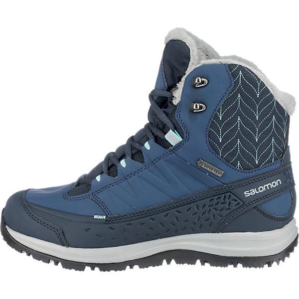 Salomon, Salomon Kaina Mid Gtx® Stiefeletten, dunkelblau  Gute Qualität beliebte Schuhe