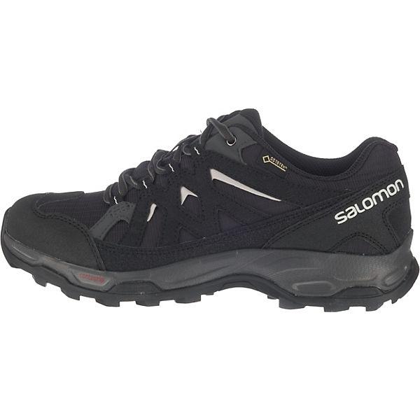 Salomon Schuhe EFFECT GTX® W PHANTOM/Bk/DAWNBLUE Trekkingschuhe schwarz