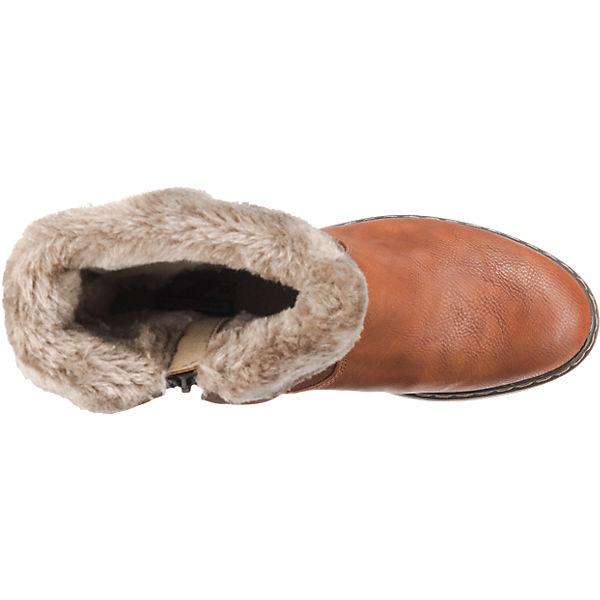 MUSTANG, MUSTANG Stiefeletten, braun  Schuhe Gute Qualität beliebte Schuhe  1b6296