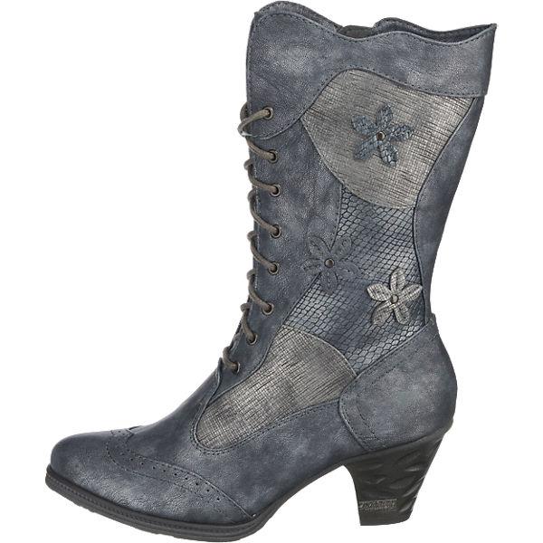 MUSTANG, MUSTANG beliebte Stiefel, blau Gute Qualität beliebte MUSTANG Schuhe 185474