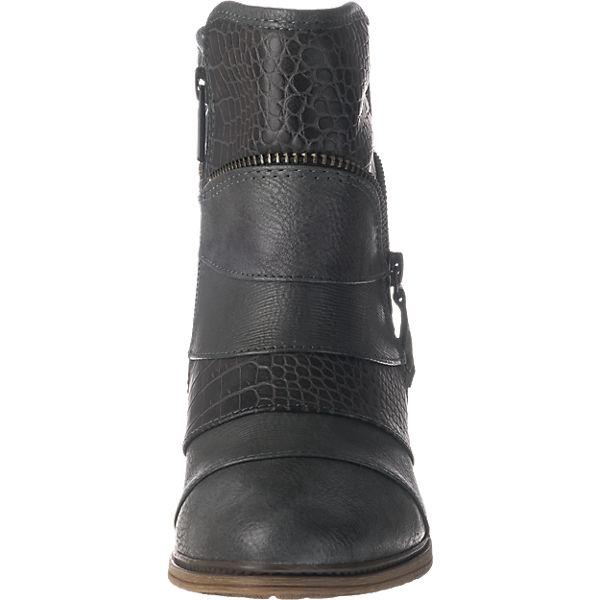 MUSTANG, Gute MUSTANG Stiefeletten, grau  Gute MUSTANG, Qualität beliebte Schuhe 52290e