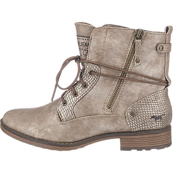 MUSTANG, MUSTANG Stiefeletten, beliebte bronze  Gute Qualität beliebte Stiefeletten, Schuhe 767b98