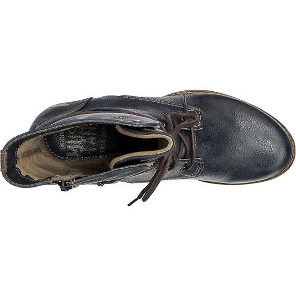 MUSTANG, Qualität Schnürstiefeletten, dunkelblau  Gute Qualität MUSTANG, beliebte Schuhe c8dde2