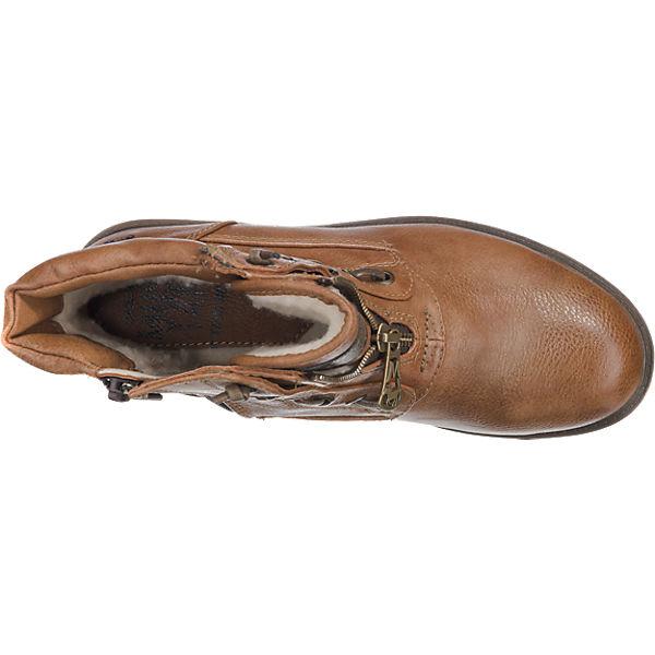 MUSTANG MUSTANG Stiefeletten hellbraun  Gute Qualität beliebte Schuhe