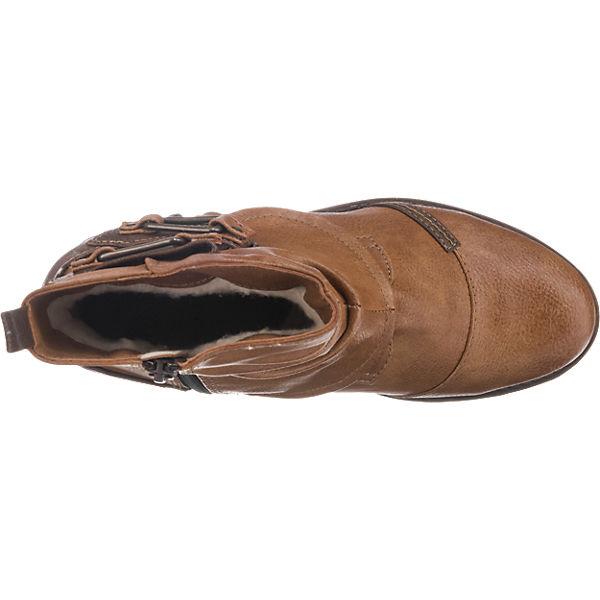 MUSTANG MUSTANG Stiefeletten Qualität hellbraun  Gute Qualität Stiefeletten beliebte Schuhe a8ab69