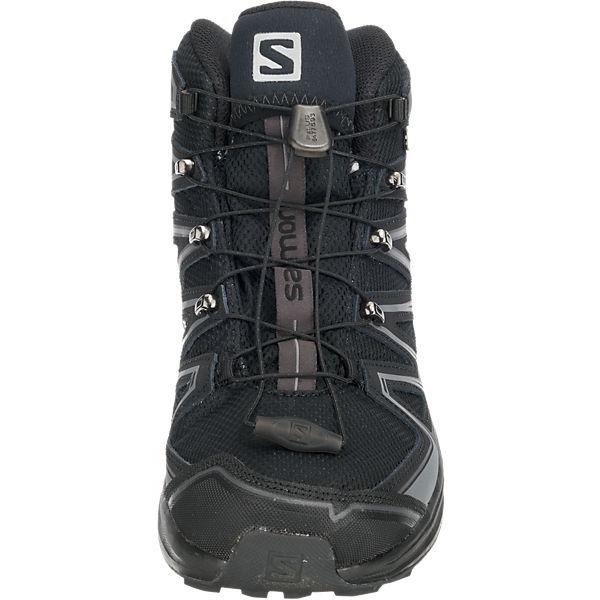 Stiefeletten X Chase Salomon kombi amp; schwarz Stiefel Mid Salomon Gtx® q10F5qn