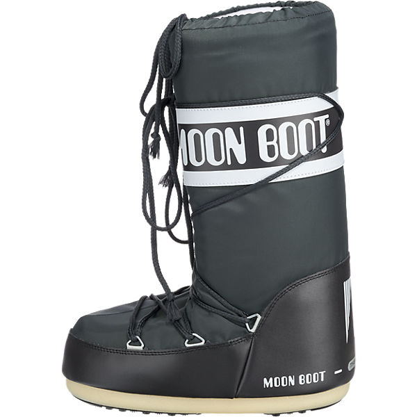 Moonboot Moonboot Moonboot Nylon anthrazit Moonboot Stiefel d7UqYdB
