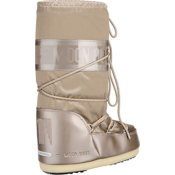 Moonboot Moon Boot Boot Boot Glance Winterstiefel champagner  Gute Qualität beliebte Schuhe dfac10