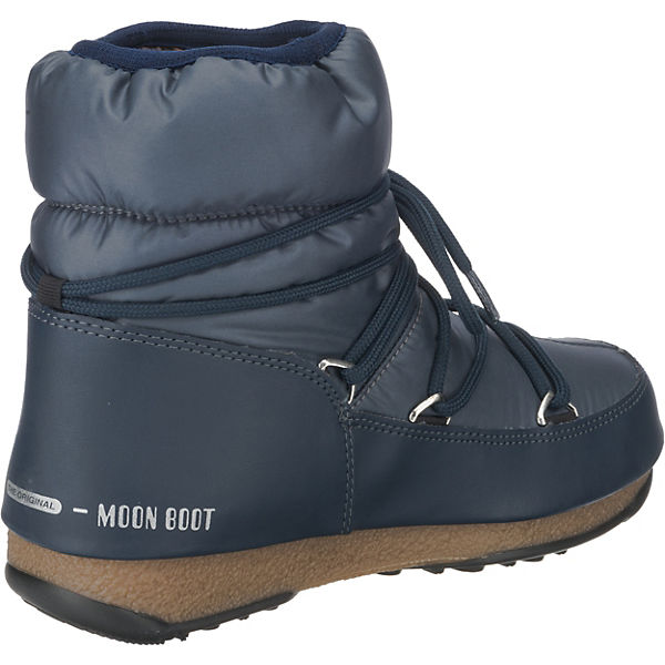 Winterstiefel Moonboot Boot Moon denim W Nylon WP Low E rr0qC