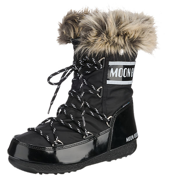 36df14620c Moonboot, Moon Boot W.E. Monaco Low WP Winterstiefel, schwarz | mirapodo