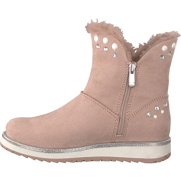 MARCO TOZZI MARCO TOZZI Stiefeletten rosa  Gute Qualität beliebte Schuhe