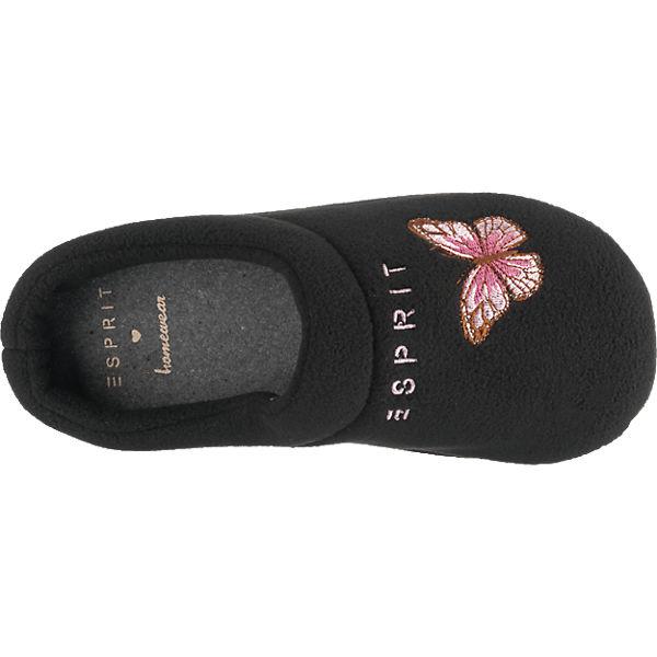 ESPRIT ESPRIT schwarz Butterfly ESPRIT ESPRIT Hausschuhe 6Y0YwqOZgn