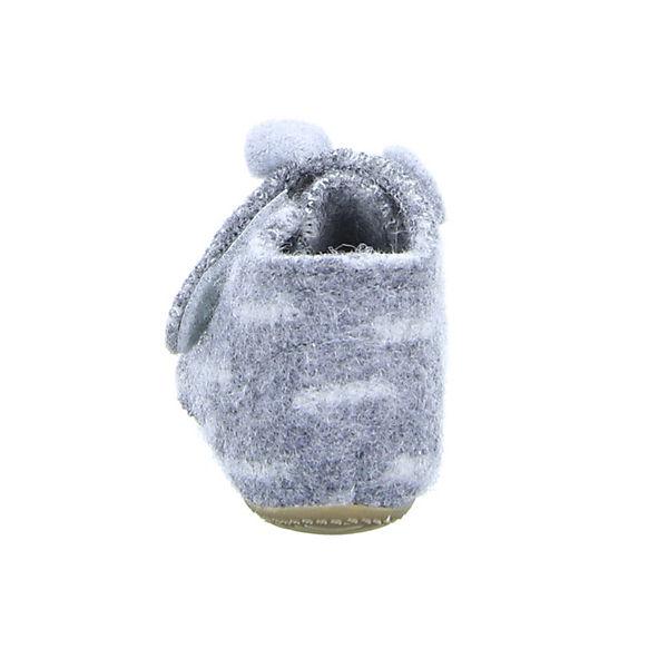 Living Kitzbühel Baby Hausschuhe grau