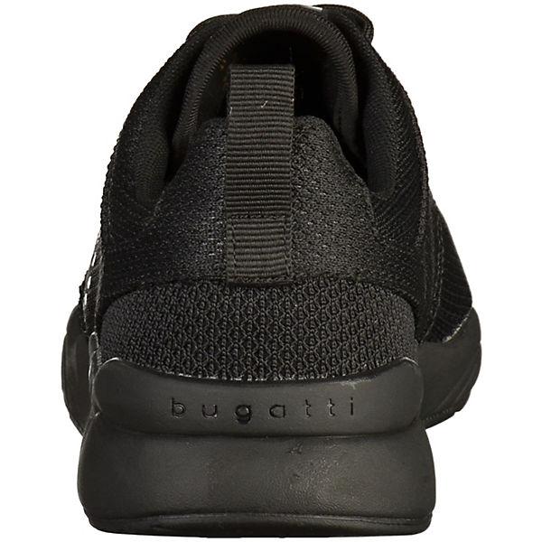 bugatti, bugatti Sneaker, schwarz schwarz Sneaker,   5d3615
