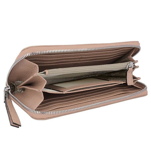 Abro Abro Adria Geldbörse Leder 19 cm beige