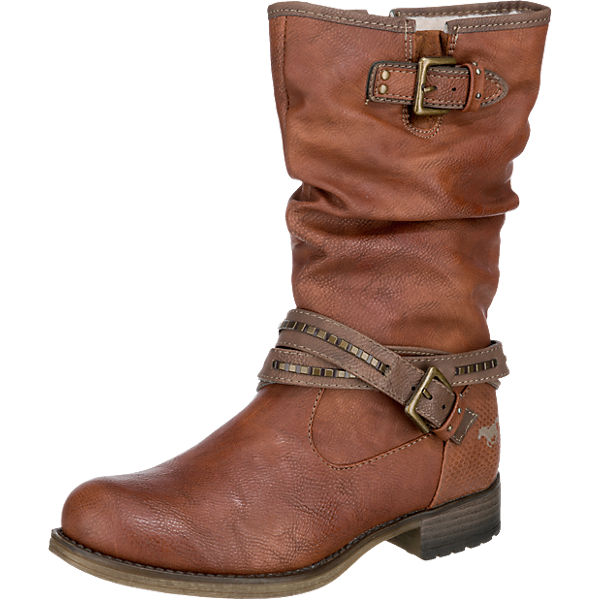 competitive price 05667 0cc81 MUSTANG, Winterstiefel, braun