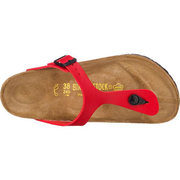 BIRKENSTOCK, Gizeh weit Pantoletten, beliebte rot  Gute Qualität beliebte Pantoletten, Schuhe bbb78e