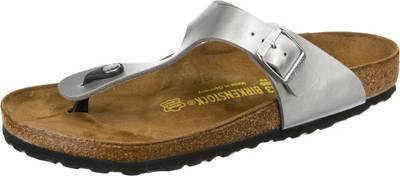 Birkenstock Arizona Regular Birkoflor Shiny Snake Multi, Schuhe, Sandalen & Hausschuhe, Sandalen, Braun, Schwarz, Female, 35