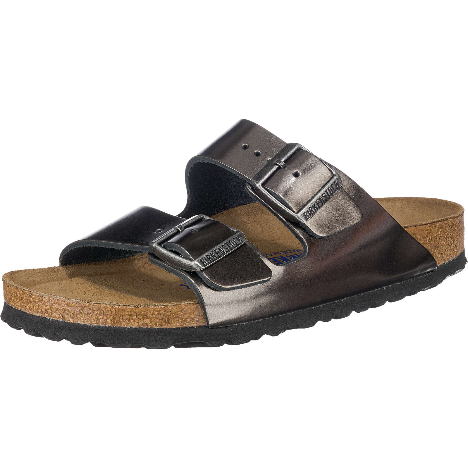 birkenstock arizona pantoletten schmal anthrazit damen gr 40 outlet clogs pantoletten. Black Bedroom Furniture Sets. Home Design Ideas