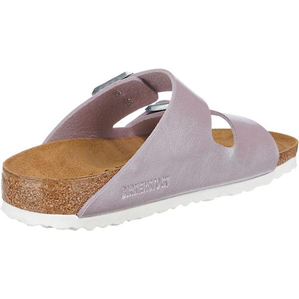 BIRKENSTOCK, BIRKENSTOCK Arizona Gute Pantoletten schmal, flieder  Gute Arizona Qualität beliebte Schuhe b30fc1
