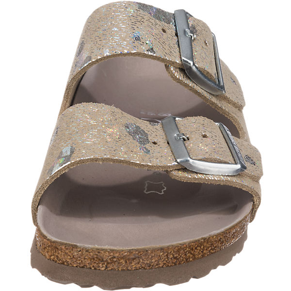 BIRKENSTOCK, BIRKENSTOCK  Arizona Pantoletten schmal, mehrfarbig  BIRKENSTOCK Gute Qualität beliebte Schuhe 42ae9c