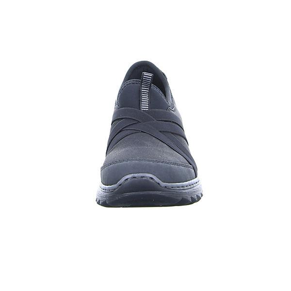 rieker, rieker Slipper schwarz M6283, schwarz Slipper   514384