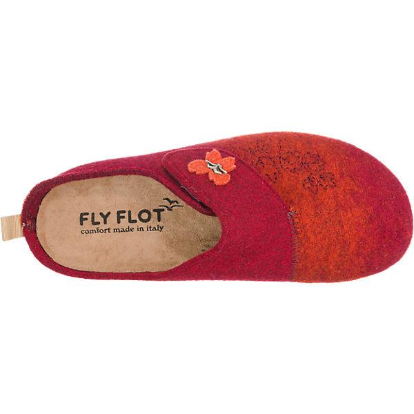 FLY FLOT FLY FLOT Hausschuhe rot