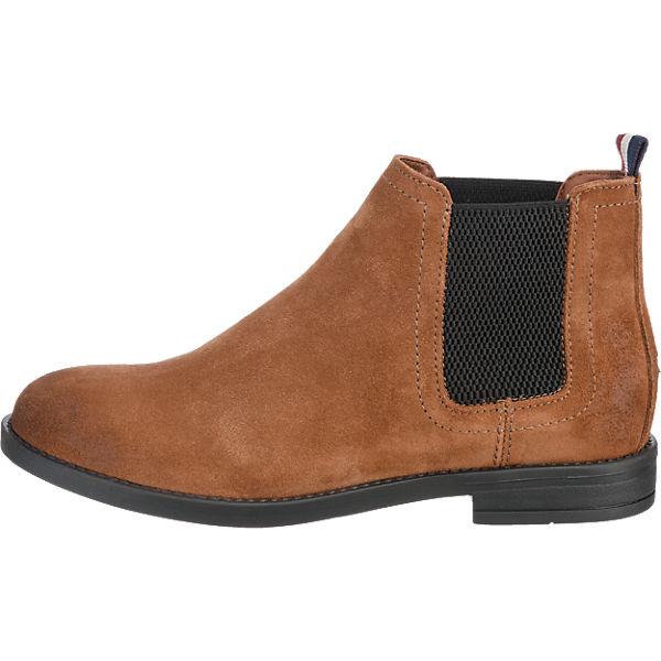 HILFIGER DENIM, HILFIGER DENIM Getty Stiefeletten, cognac Schuhe  Gute Qualität beliebte Schuhe cognac 99ca30