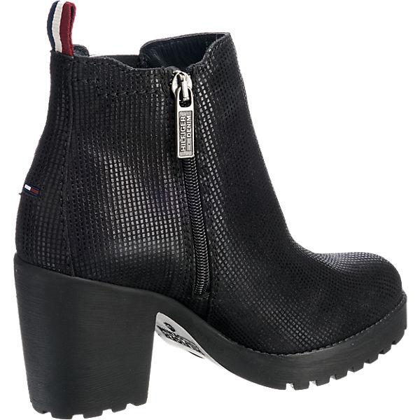 HILFIGER DENIM HILFIGER DENIM Boo Stiefeletten schwarz schwarz schwarz  Gute Qualität beliebte Schuhe ac02fe