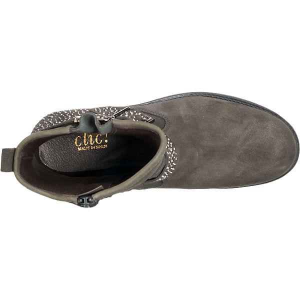 Clic, Clic Qualität Stiefeletten, grau  Gute Qualität Clic beliebte Schuhe dda5e4