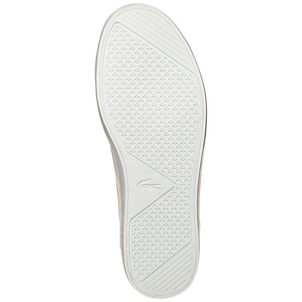 LACOSTE, LACOSTE Straightset Lace Qualität Sneaker, weiß  Gute Qualität Lace beliebte Schuhe 5be6d5