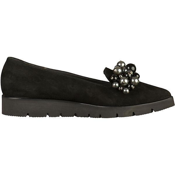PETER KAISER, PETER KAISER KAISER KAISER Slipper, schwarz  Gute Qualität beliebte Schuhe db51e1