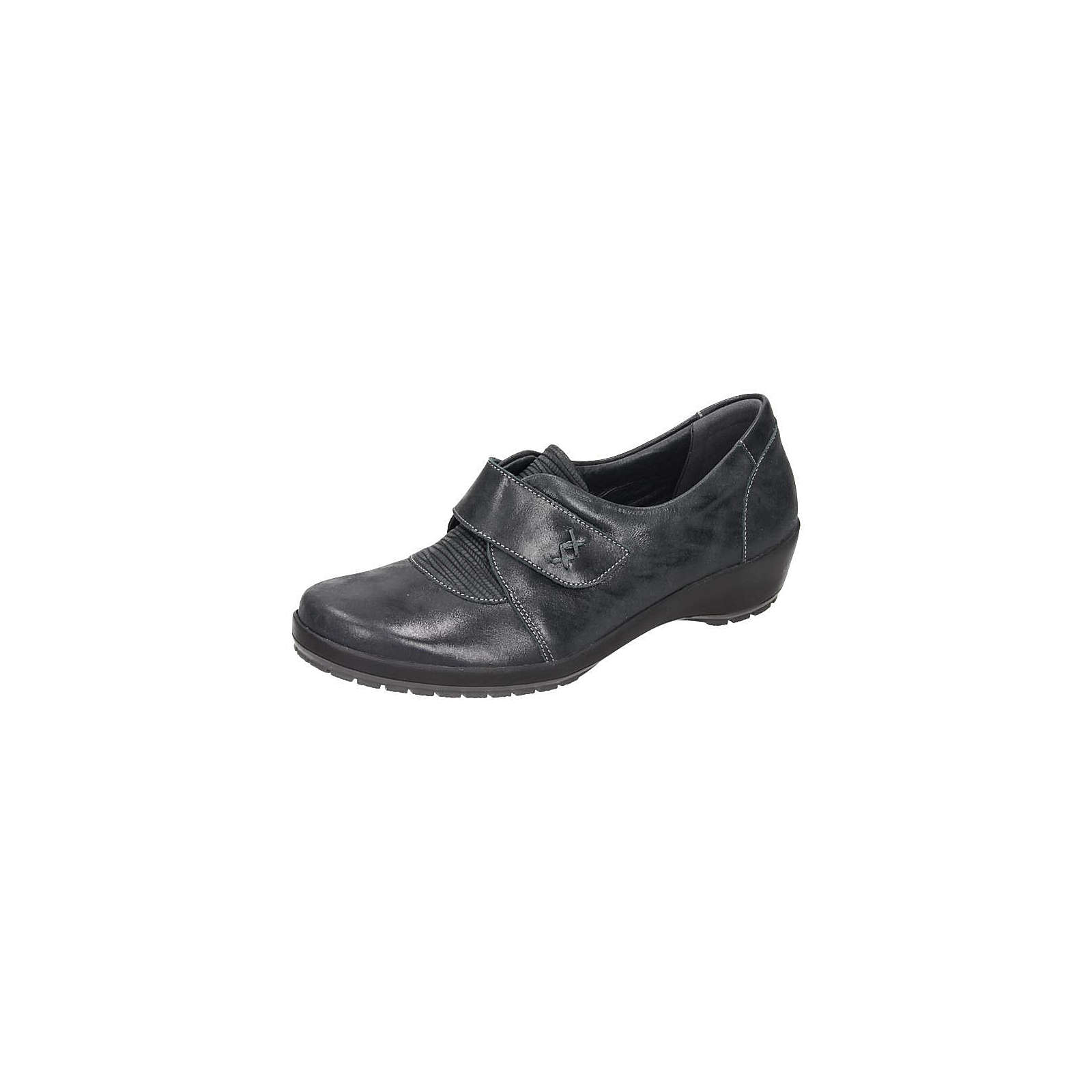 Comfortabel Damen Slipper anthrazit Damen Gr. 39