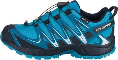 Salomon, Kinder Outdoorschuhe XA PRO 3D CSWP, blau   mirapodo H44bT