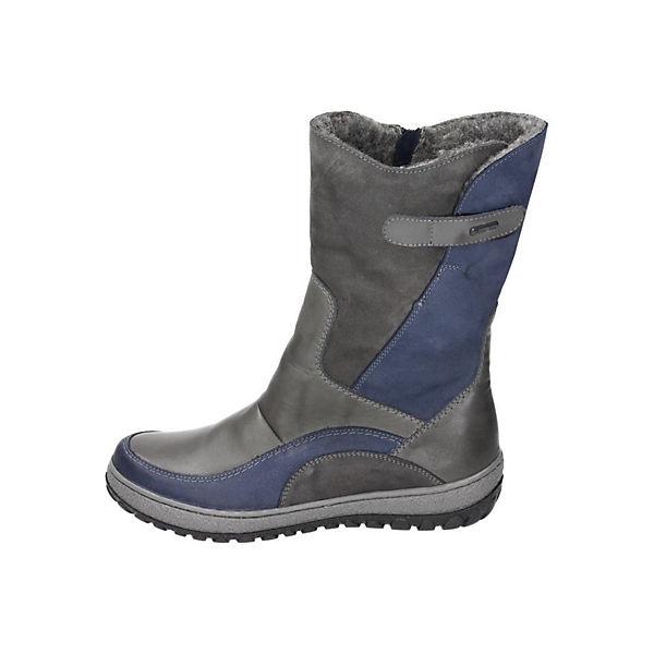 Manitu Manitu Damen Stiefel blau  Gute Qualität beliebte Schuhe