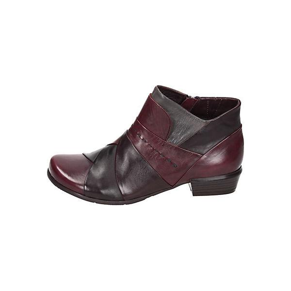 Piazza Piazza Damen Stiefelette rot-kombi  Gute Qualität beliebte Schuhe