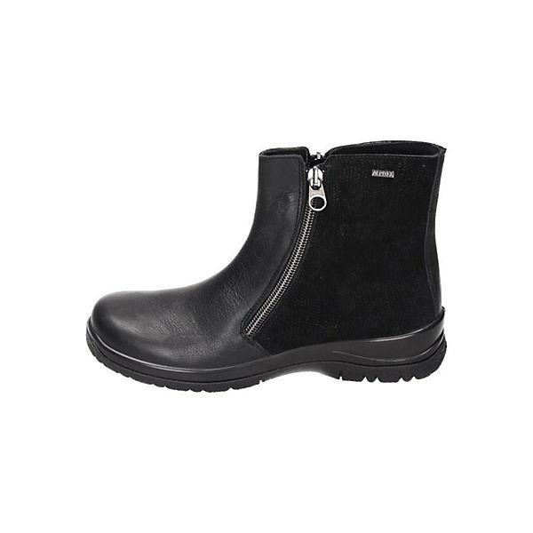 Comfortabel, Comfortabel Damen Stiefelette, beliebte schwarz  Gute Qualität beliebte Stiefelette, Schuhe 025f63