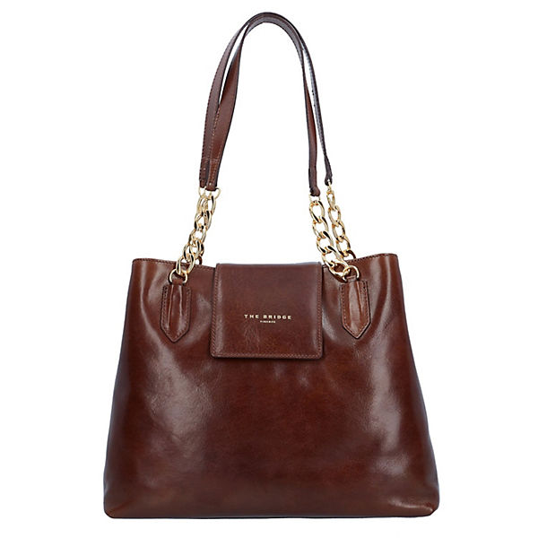 The Bridge Candy Shopper Tasche Leder 36 cm