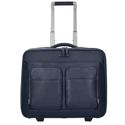 Piquadro Modus 2-Rollen Businesstrolley Leder 44 cm Laptopfach