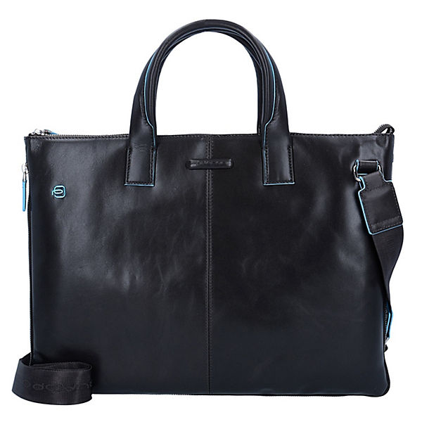 Piquadro Blue Square Business Tasche Leder 42 cm Laptopfach