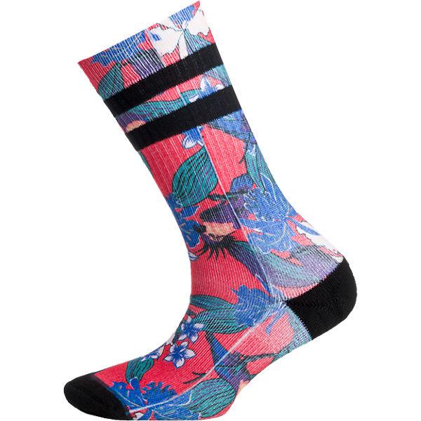 Stance ein Paar Socken rot-kombi