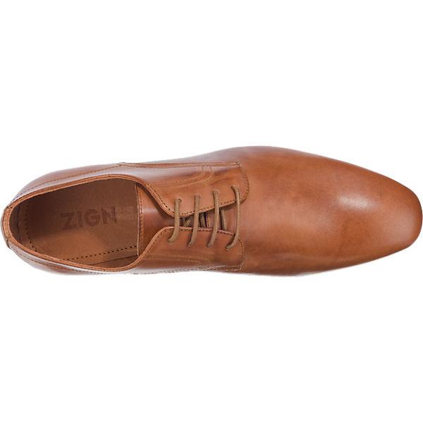 Zign Zign Business Schuhe cognac